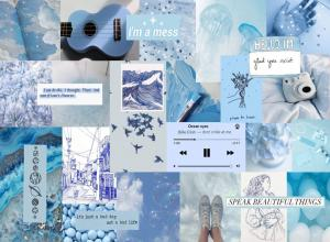 Blue Aesthetic Tumblr Laptop Wallpapers - Top Free Blue Aesthetic Tumblr Laptop Backgrounds