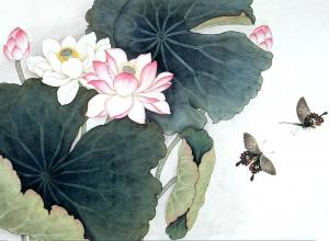 Lotus Painting Wallpapers - Top Free Lotus Painting Backgrounds
