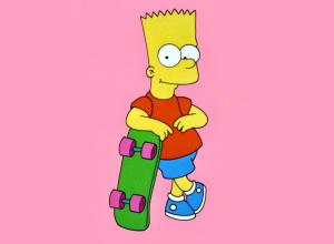 Pink Bart Wallpapers - Top Free Pink Bart Backgrounds