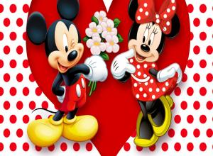 Mickey and Minnie Mouse Wallpaper 64+