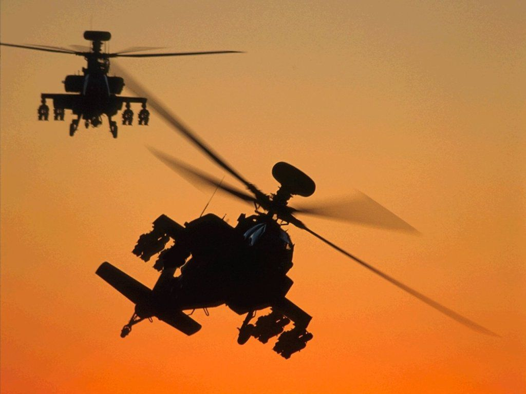 1024x768 Apache Helicopter Wallpaper Free Download 13121 - Amazing Wallpaperz