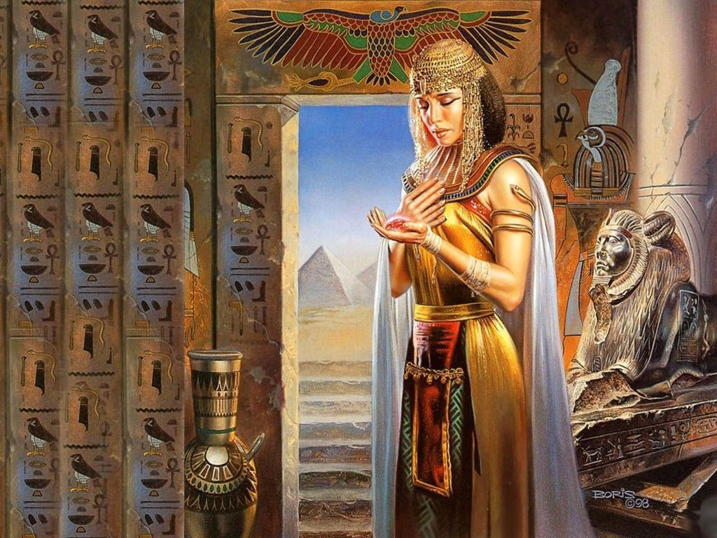 1024x768 Maat Egyptian Goddess | And the Majesty of this god said unto Nut ...