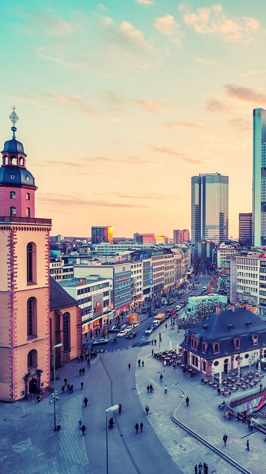 900x1600 Germany Cityscapes Mobile Wallpaper - Mobiles Wall