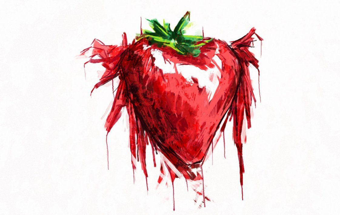 1122x711 Strawberry fields forever by Xanthousis | The Beatles | Pinterest ...
