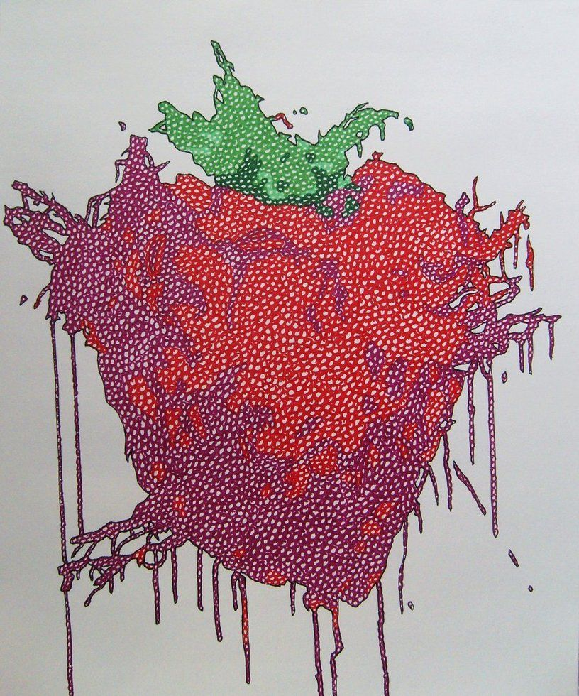 816x980 Across the Universe Strawberry by dylanmark on DeviantArt