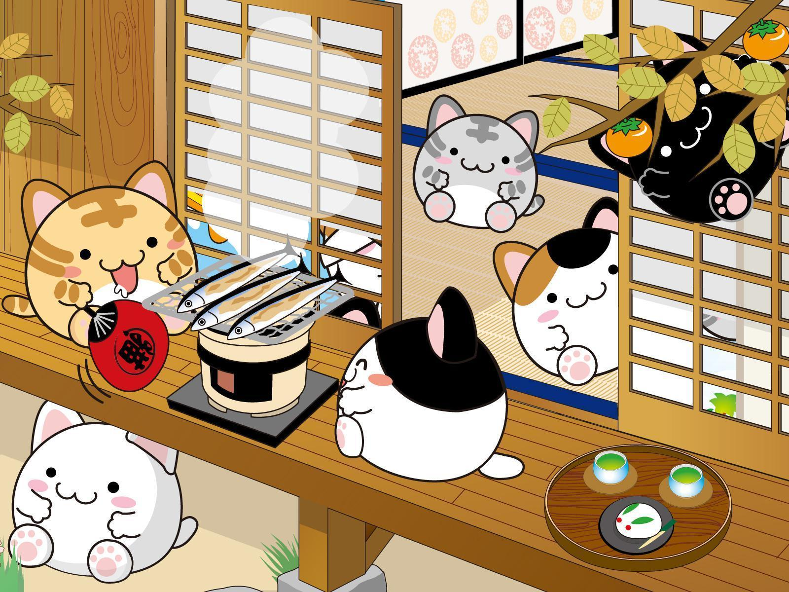1600x1200 Cute Japanese Backgrounds