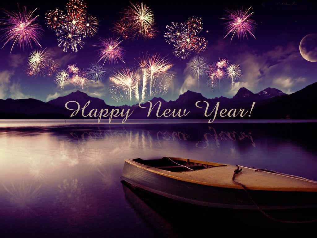 1024x768 Download Happy New Year 2018 HD Images   New year 2018 HD Wallpapers ...