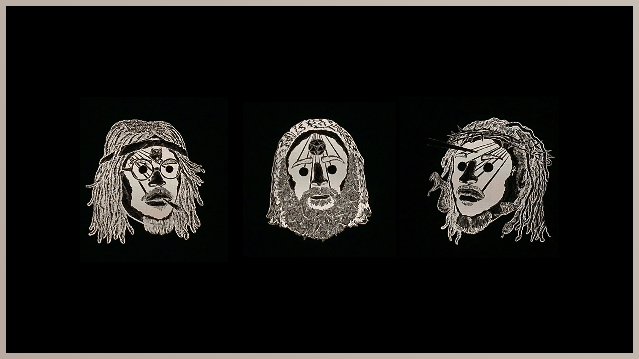 2560x1440 Wallpaper I made using the art from the 3001: A Laced Odyssey Tour ...