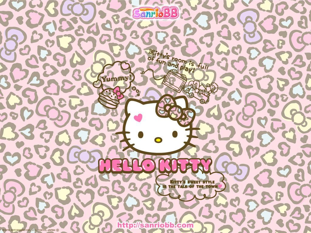 1024x768 Hello Kitty Nerd Wallpaper | Hello Kitty Wallpaper From Sanrioshow ...