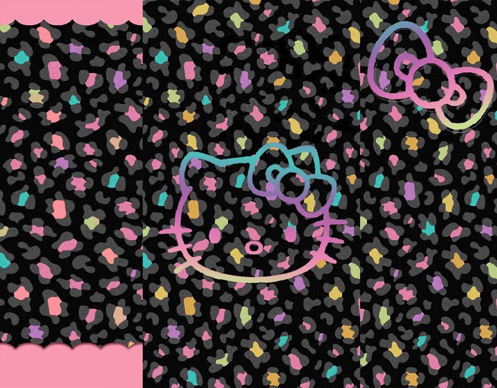 1024x800 Free Hello Kitty Zebra Wallpapers Widescreen « Long Wallpapers