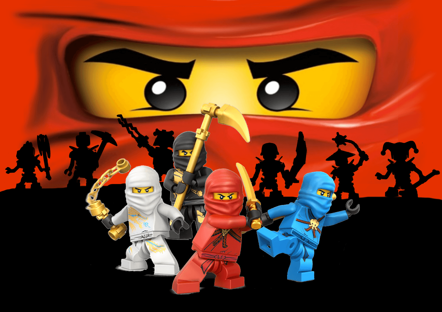 1501x1061 Ninjago Wallpapers