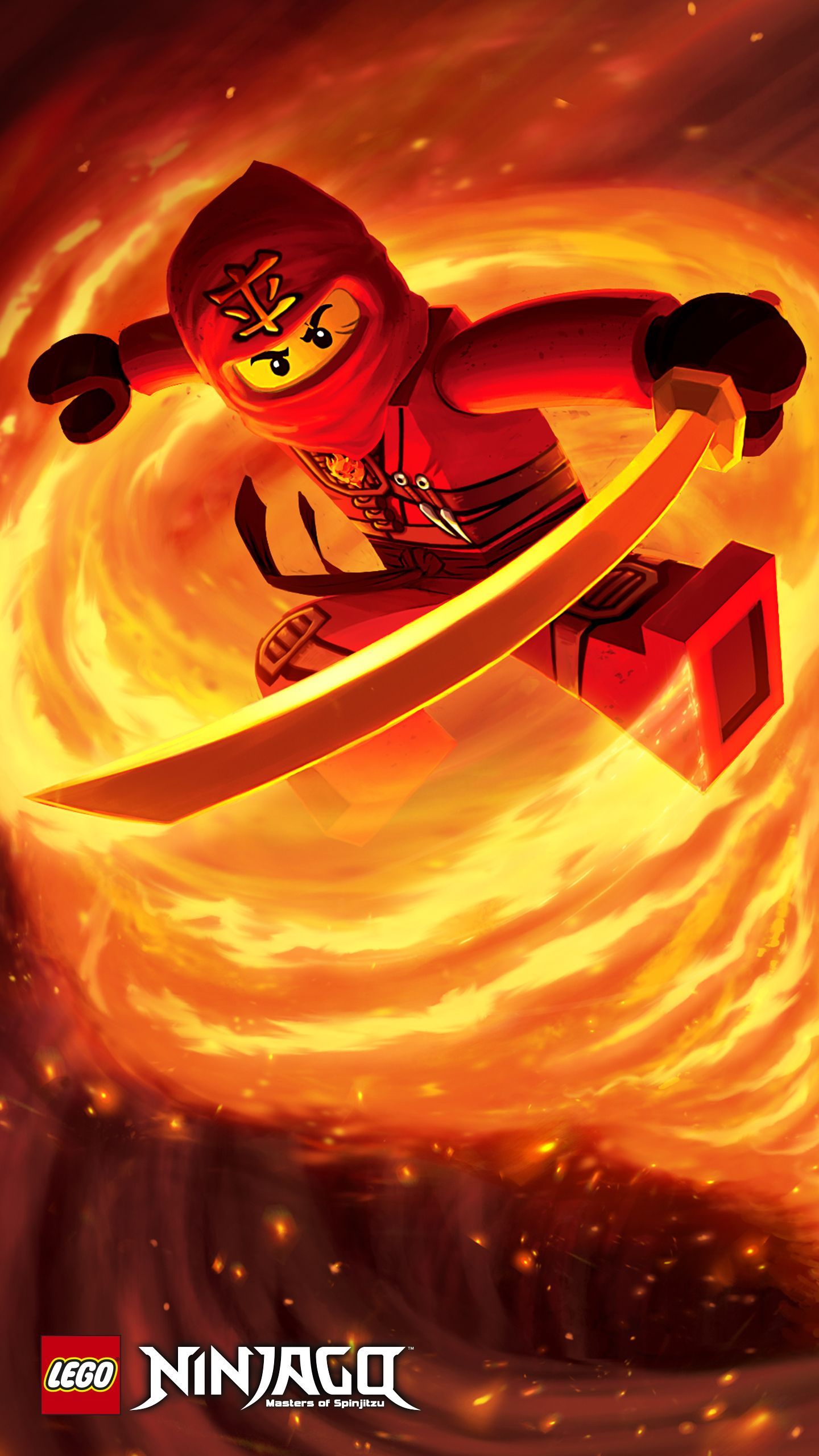 1440x2560 Kai Poster - Tournament of Elements - Wallpapers - LEGO® NINJAGO ...