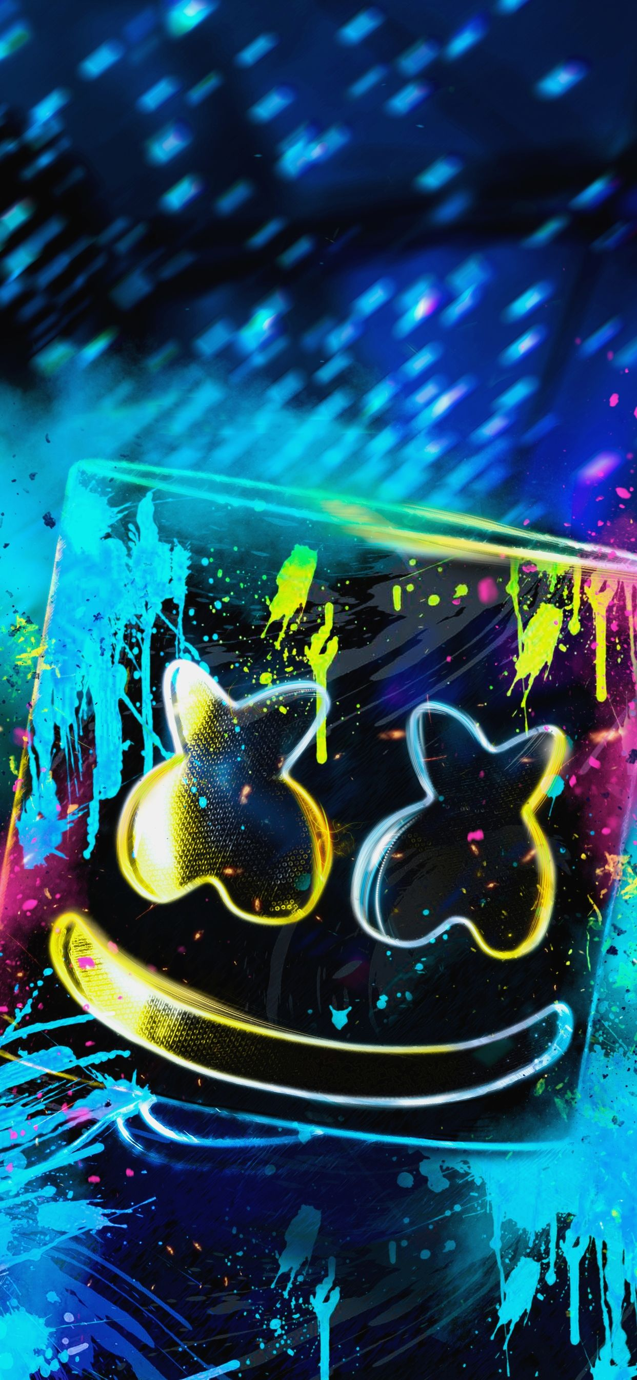 1242x2688 10 Neon Dj Wallpaper - Download Wallpaper HD For PC Computer & Android