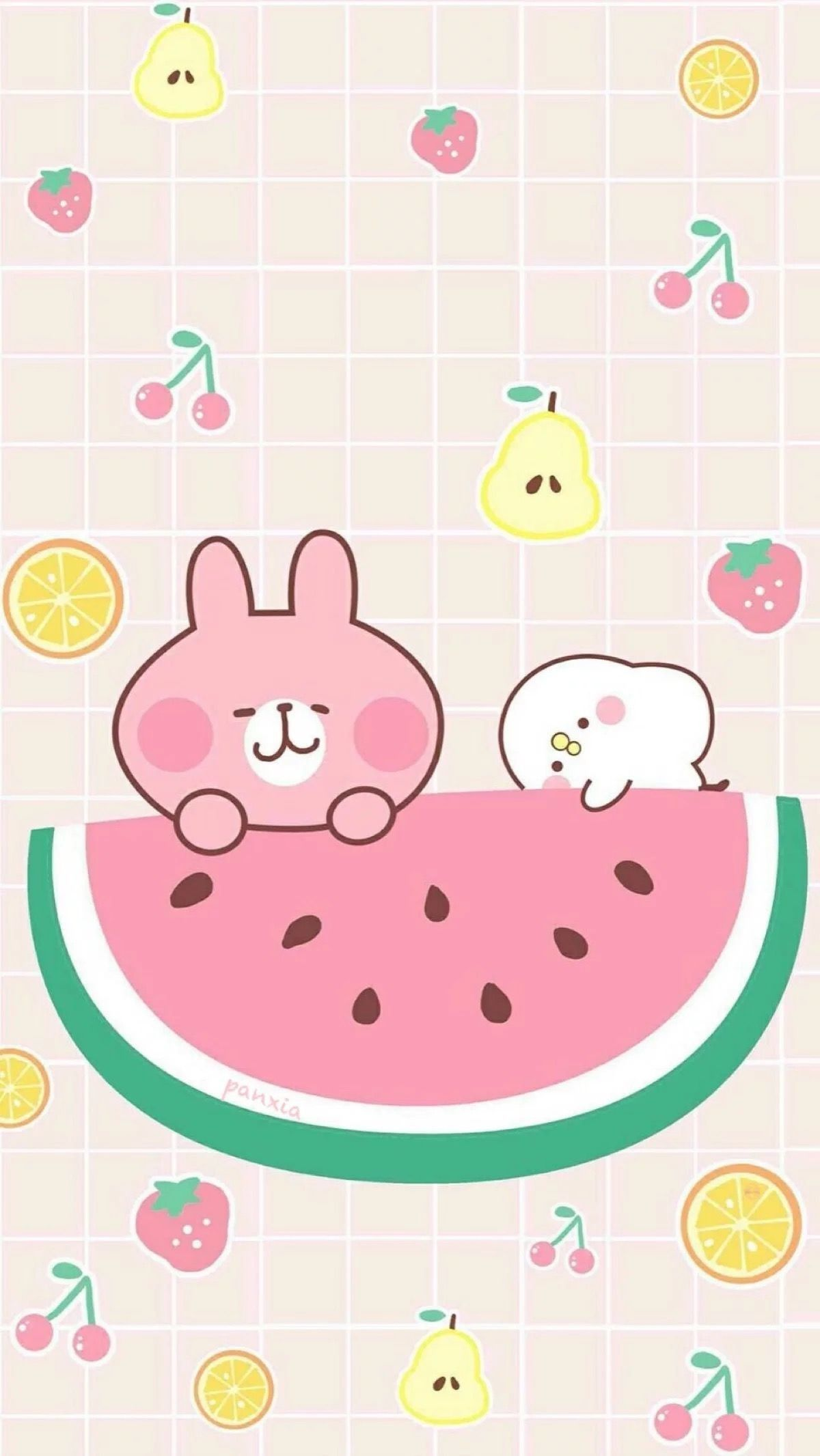 1200x2132 62+ Kawaii Strawberry Wallpapers on WallpaperPlay