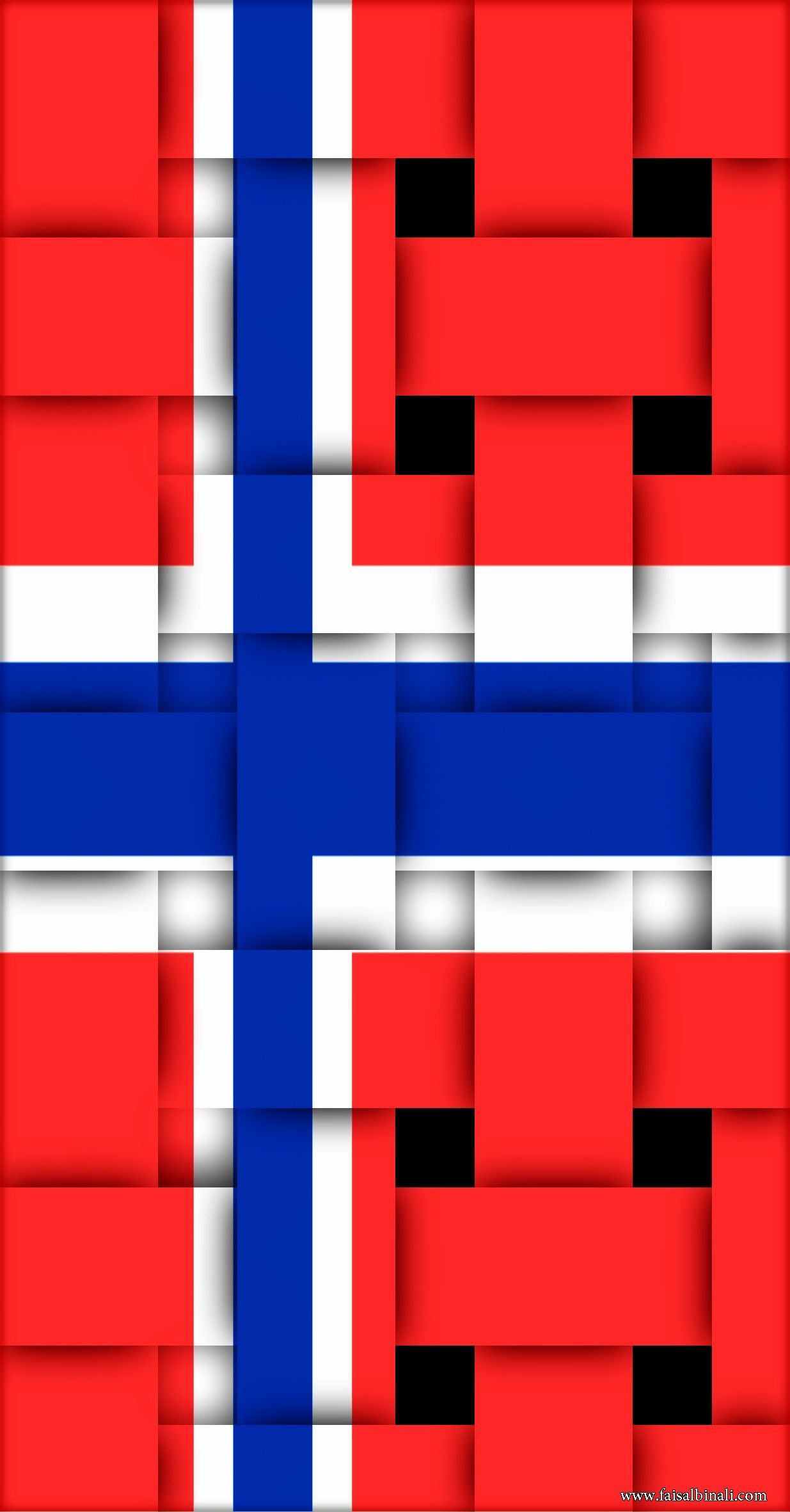 1235x2362 Norway Flag Wallpapers
