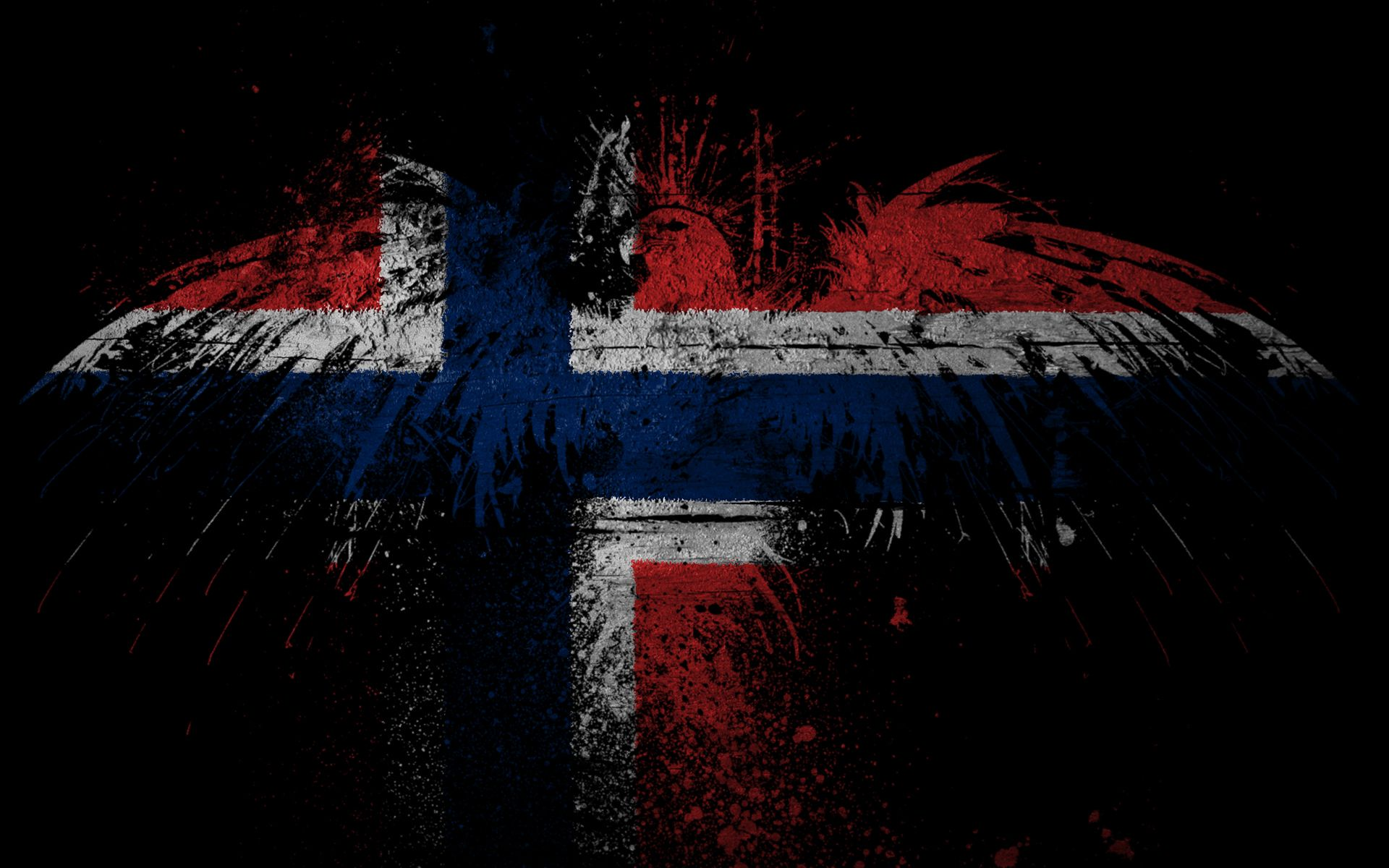 1920x1200 Eagles Norway flags wallpaper | 1920x1200 | 188746 | WallpaperUP