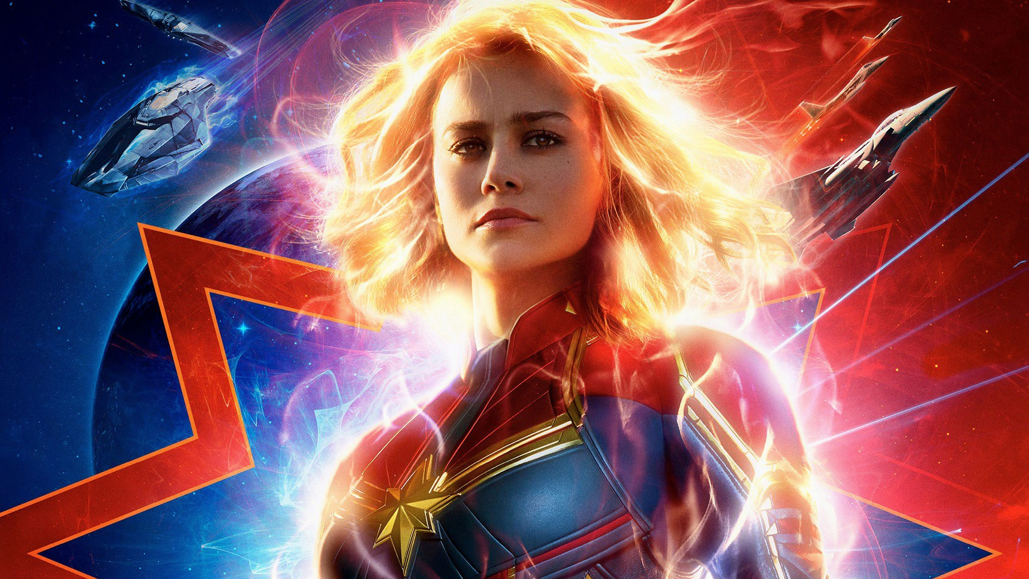 3376x1899 Captain Marvel Movie 2019 4k, HD Movies, 4k Wallpapers ...