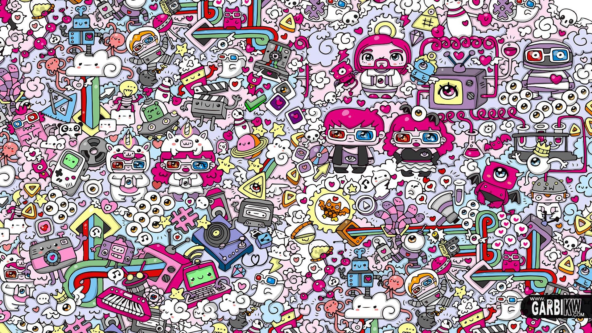 1920x1080 Doodle Wallpaper (the best 39+ images in 2018)