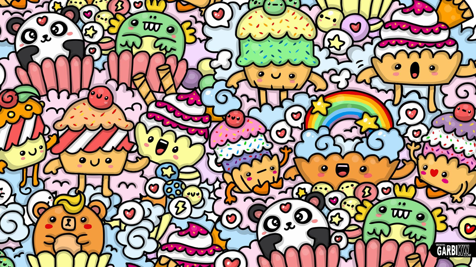1920x1080 Doodle Art Wallpapers (52+ images)