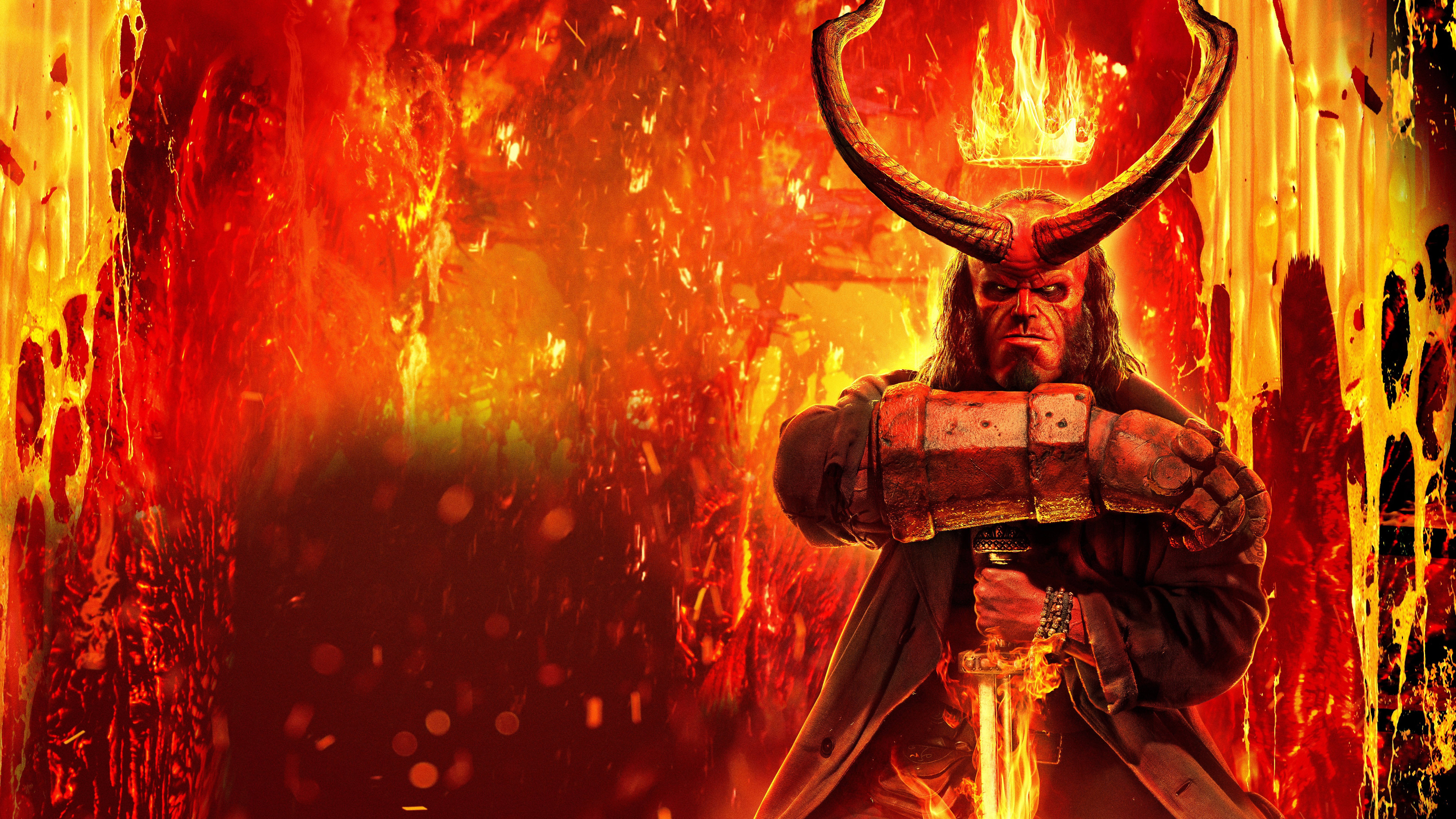 7680x4320 Hellboy 2019 8k, HD Movies, 4k Wallpapers, Images ...