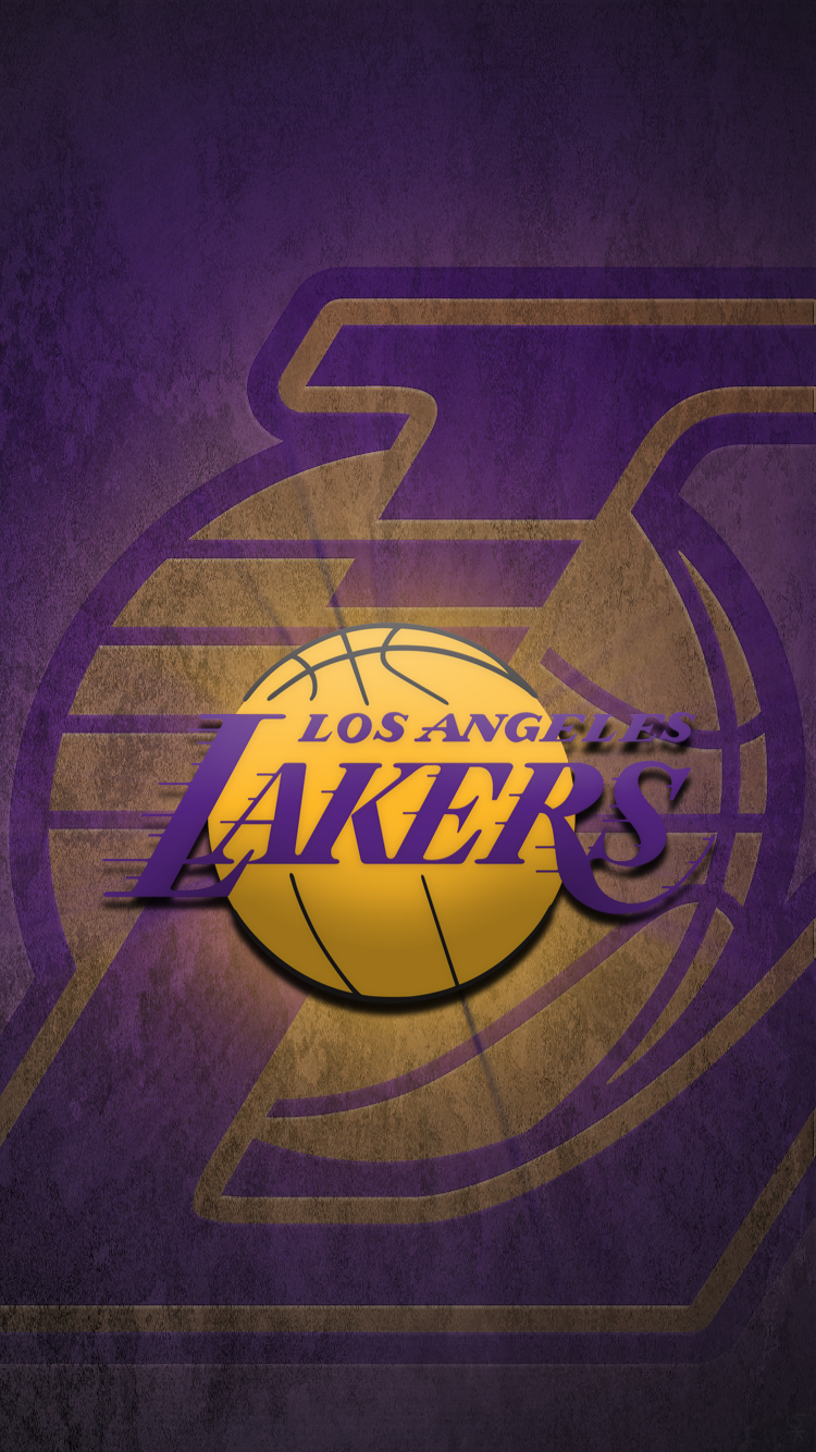 750x1334 Los Angeles Lakers Wallpapers