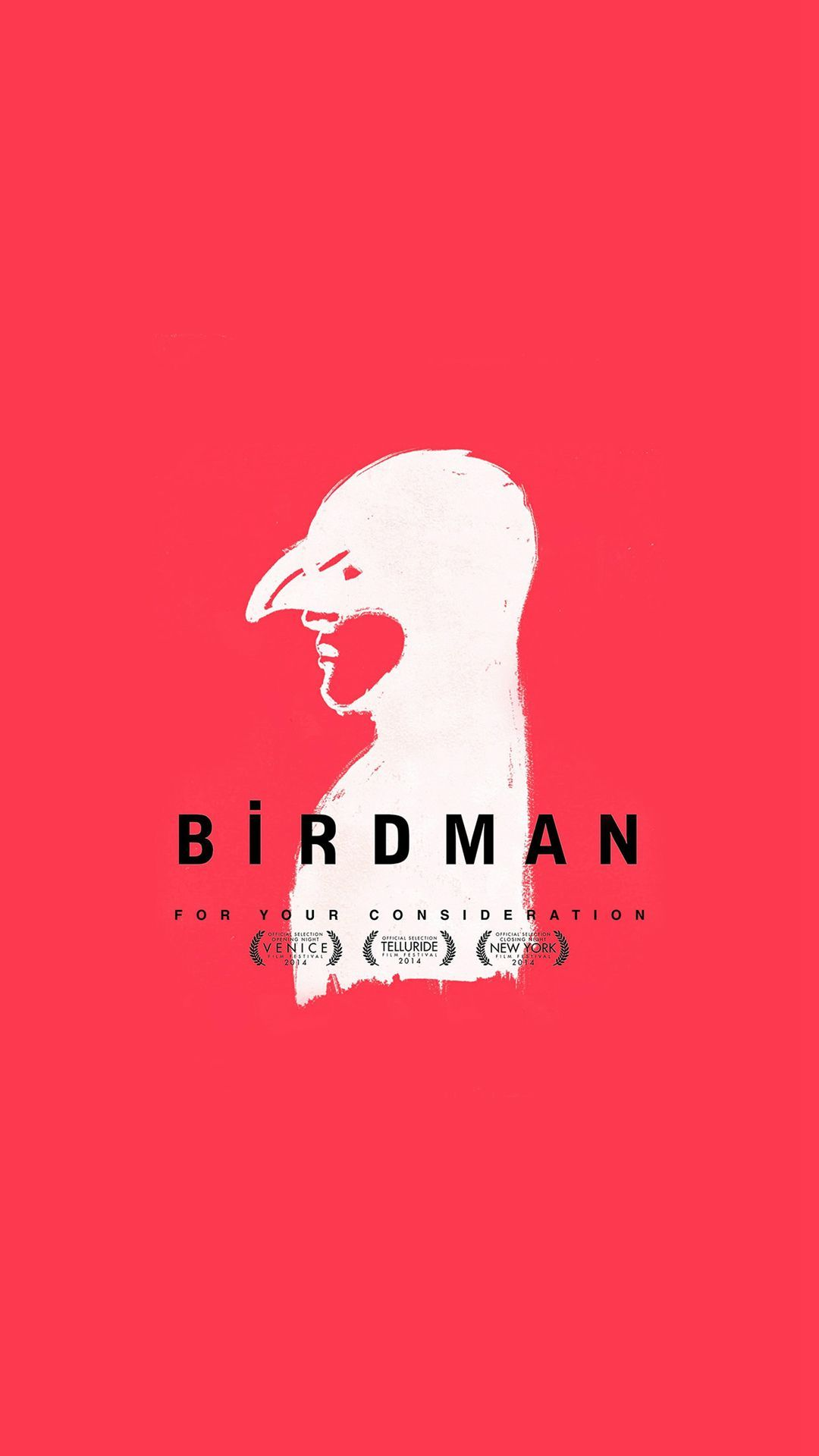 1080x1920 Birdman Poster Red Film #iPhone #6 #plus #wallpaper | iPhone 6 ...
