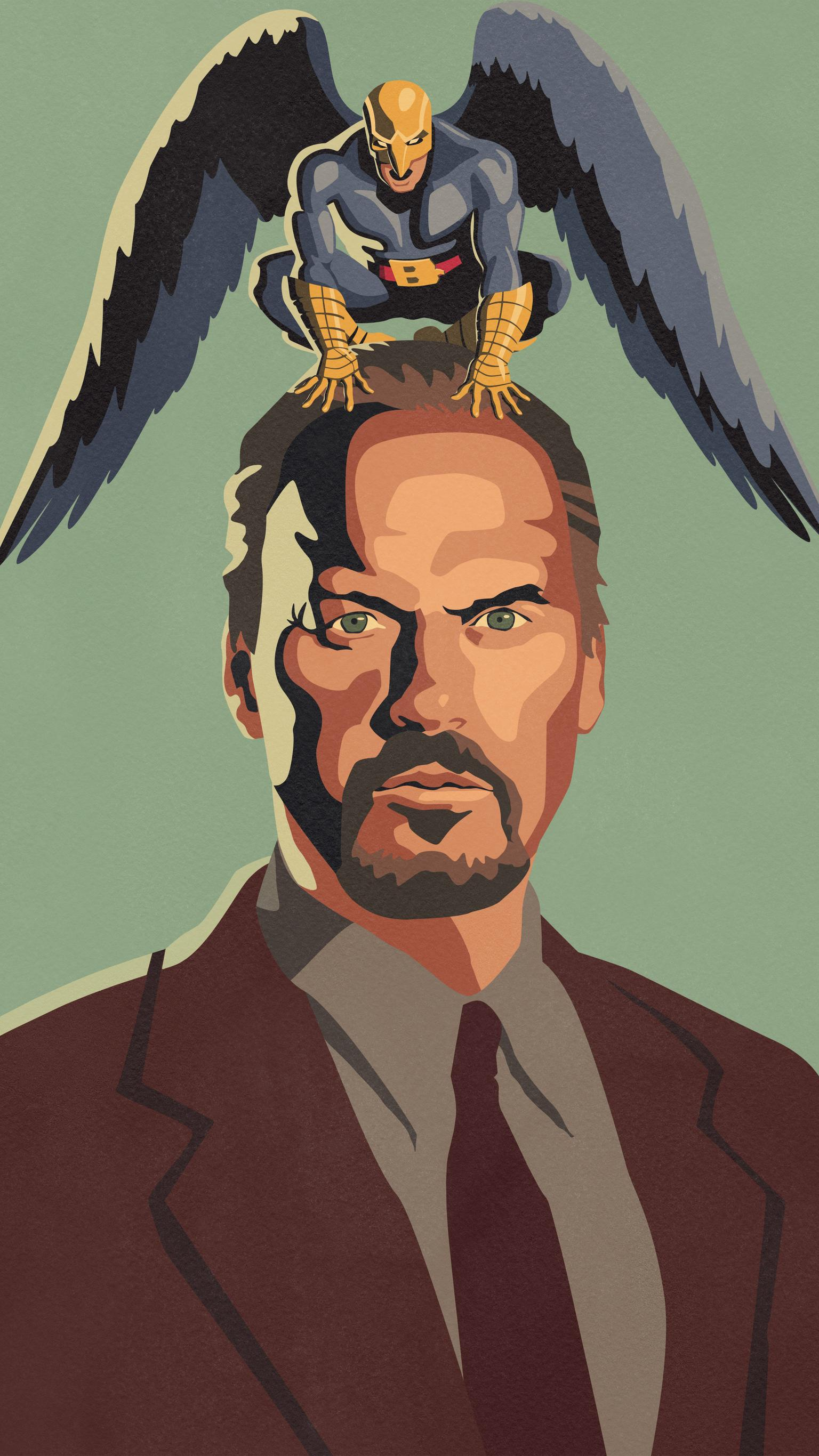 1536x2732 Birdman (2014) Phone Wallpaper | Moviemania