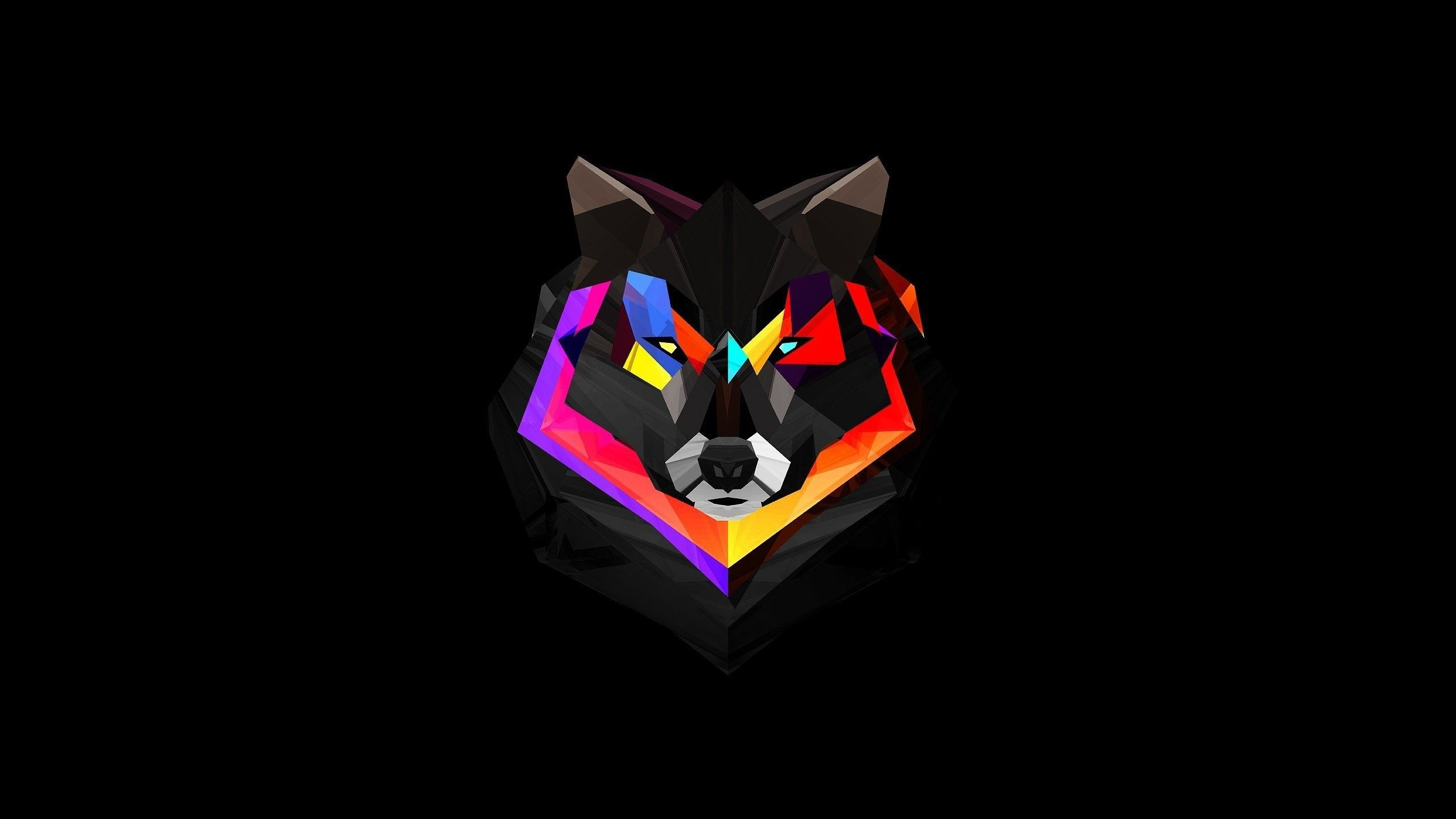 2560x1440 70+ Abstract Wolf Wallpapers on WallpaperPlay