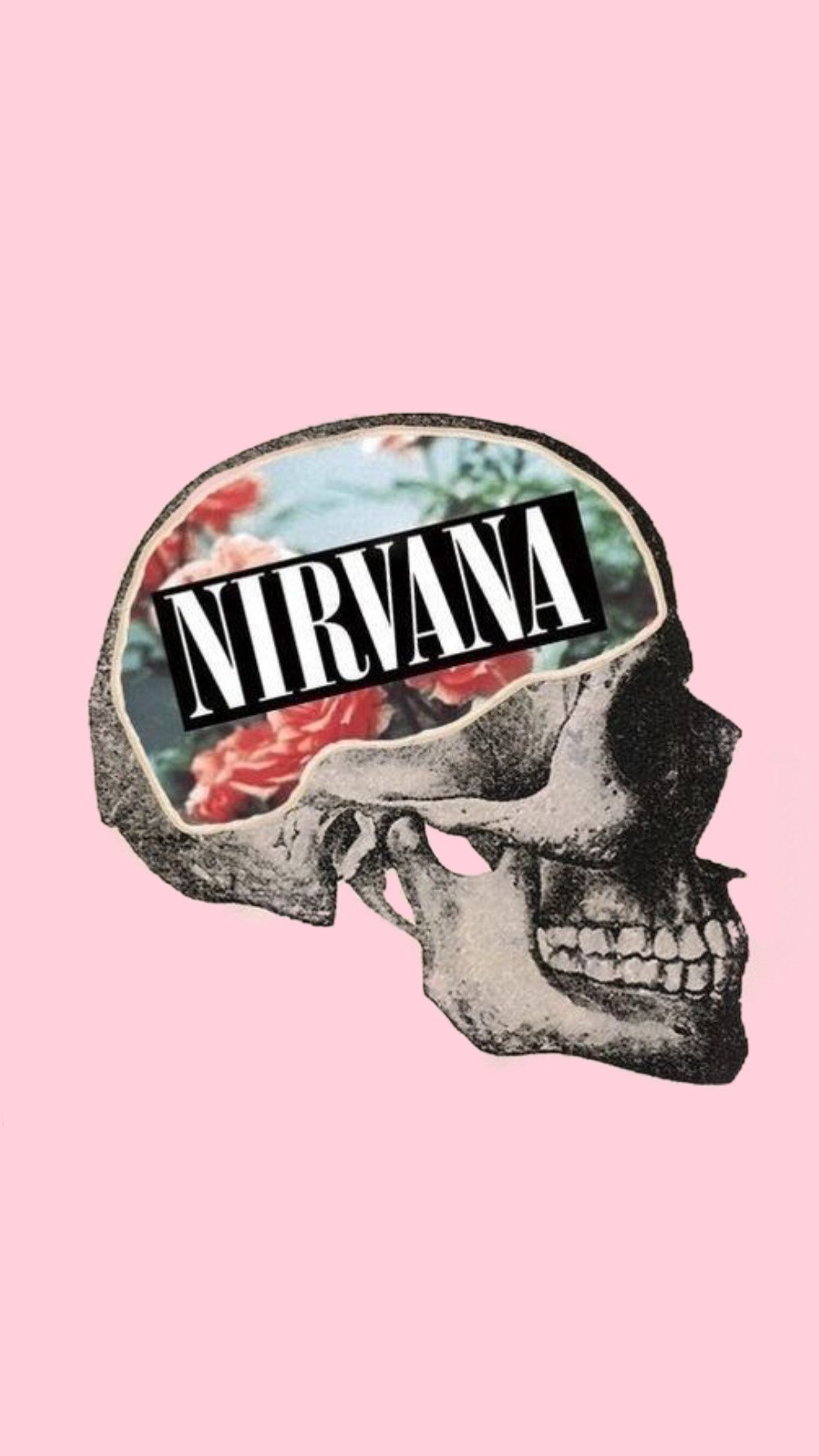 1242x2208 64+ Nirvana Iphone Wallpapers on WallpaperPlay