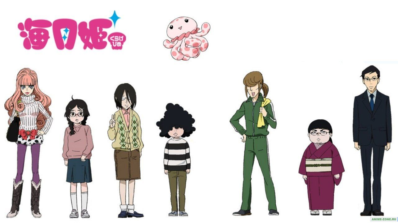 1282x720 Free download Princess Jellyfish [1282x720] for your Desktop, Mobile ...