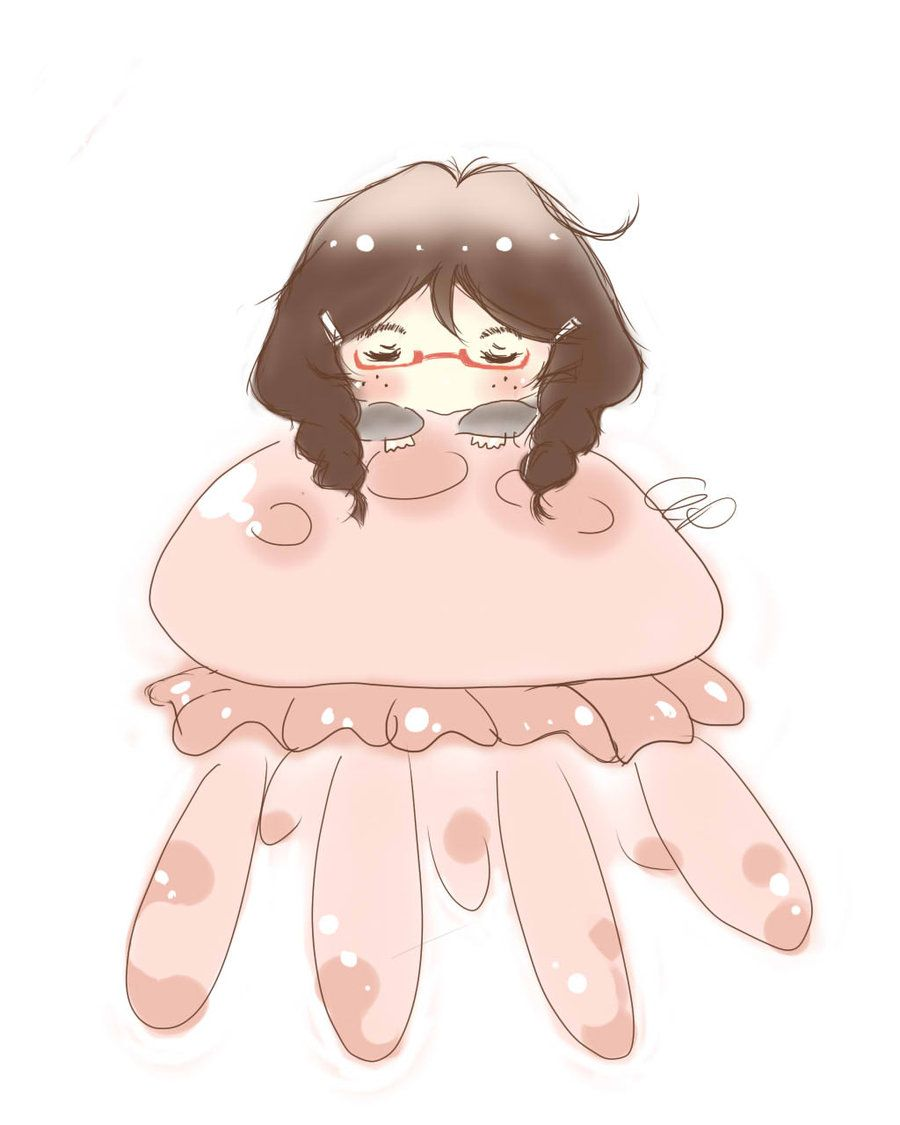 900x1125 Free download Princess Jellyfish Wallpaper [900x1125] for your ...