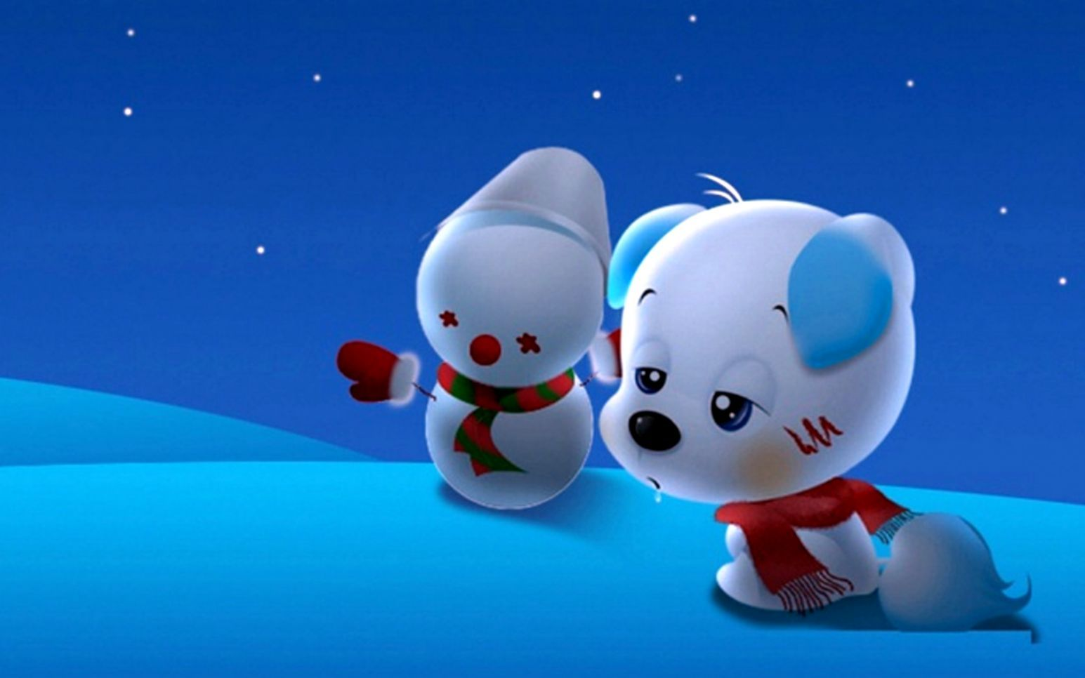 1545x966 Cute Cartoon Puppy Cartoons Wallpapers Hd Desktop | Scroll ...