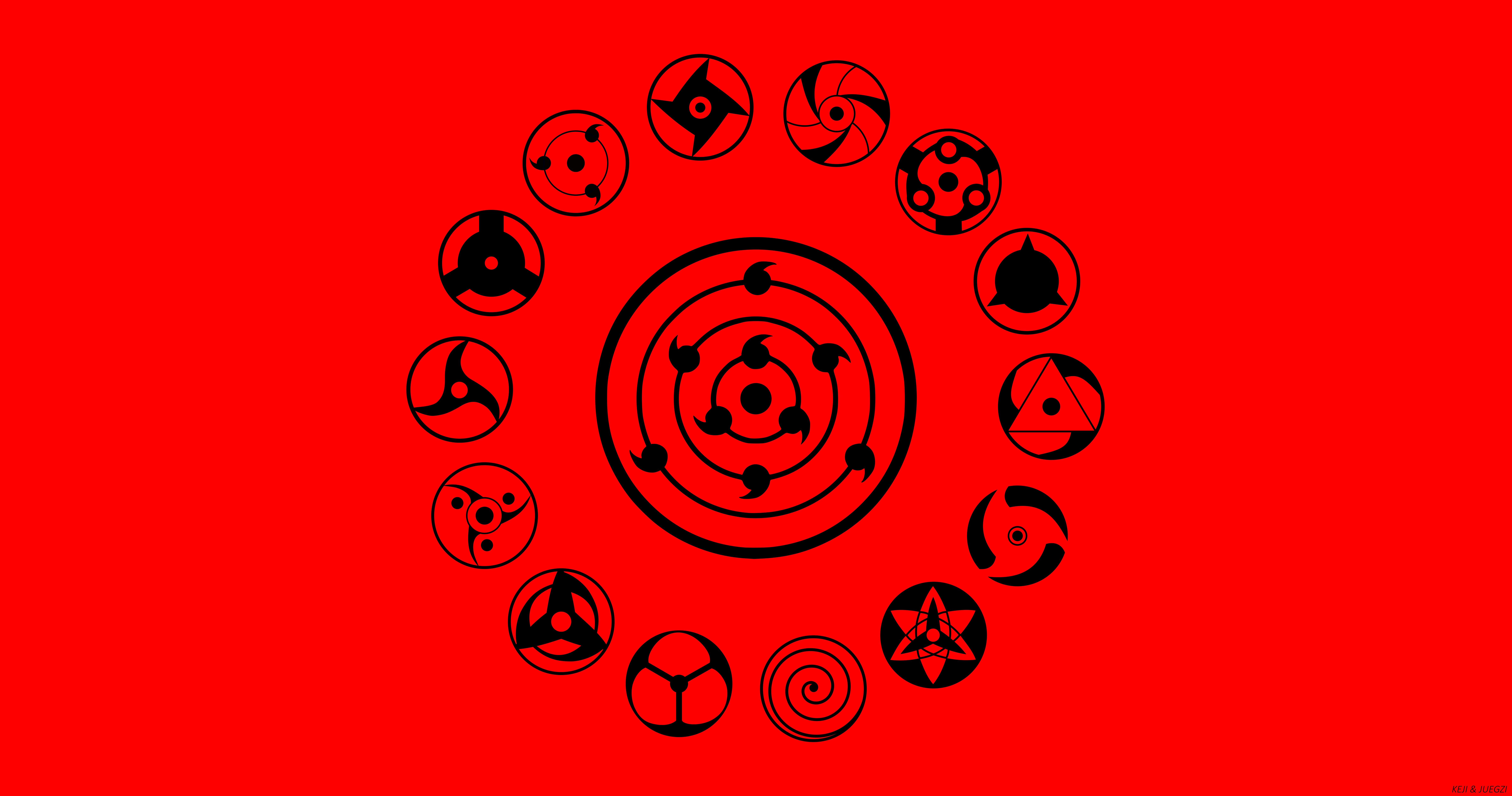9500x5000 5041880 Red, Mangekyō Sharingan, Boruto (Anime), Sharingan ...
