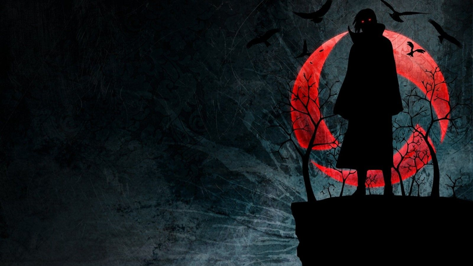 1600x900 Download 1600x900 Uchiha Itachi, Akatsuki, Crows, Dark ...