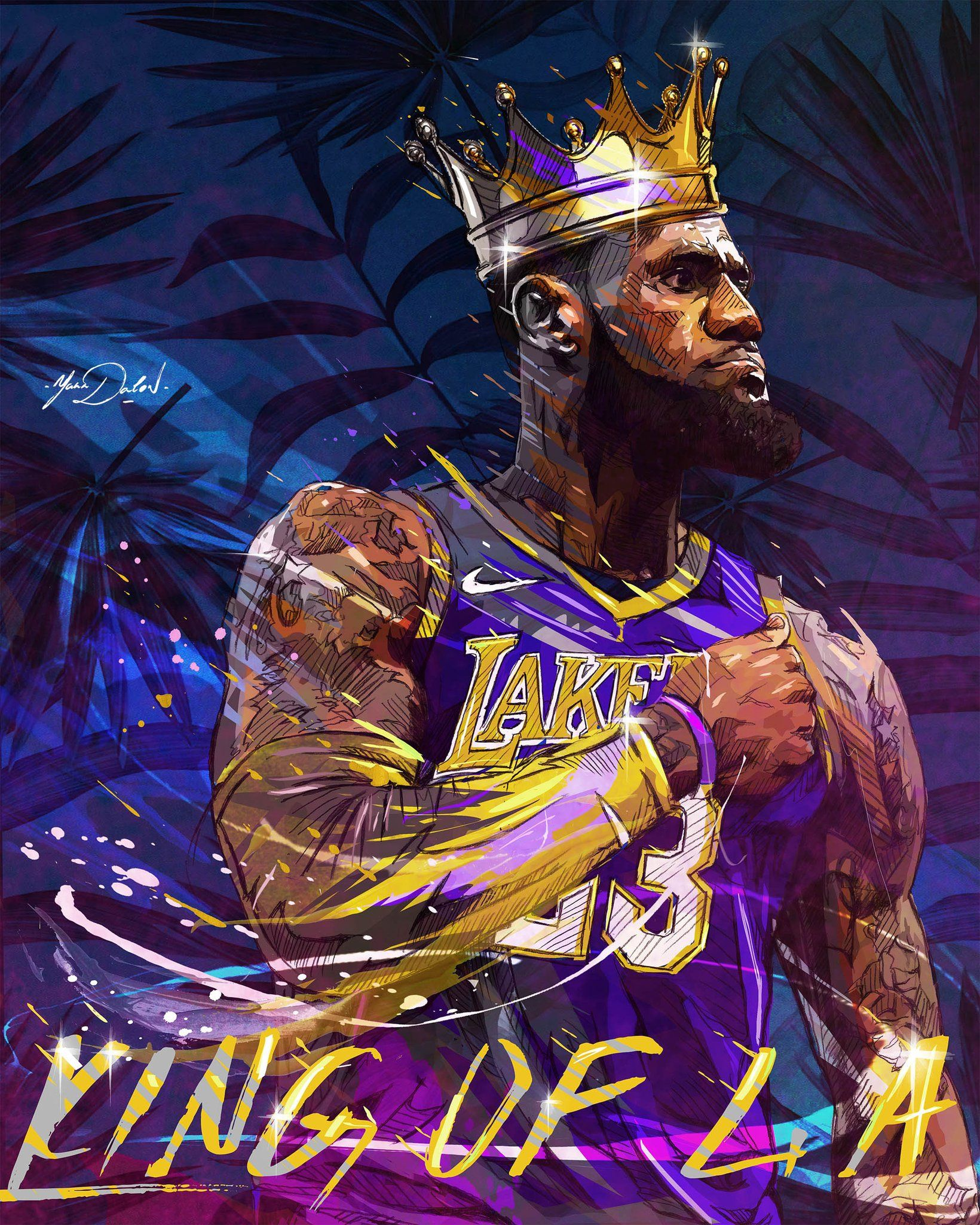 1640x2048 Lebron James Lakers Wallpapers