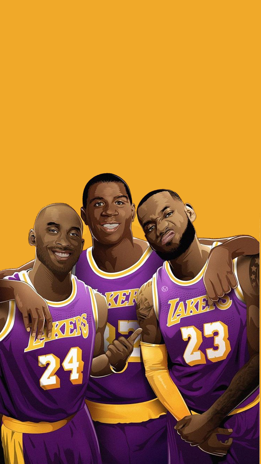 1080x1920 Awesome Mobile Wallpaper. : lakers