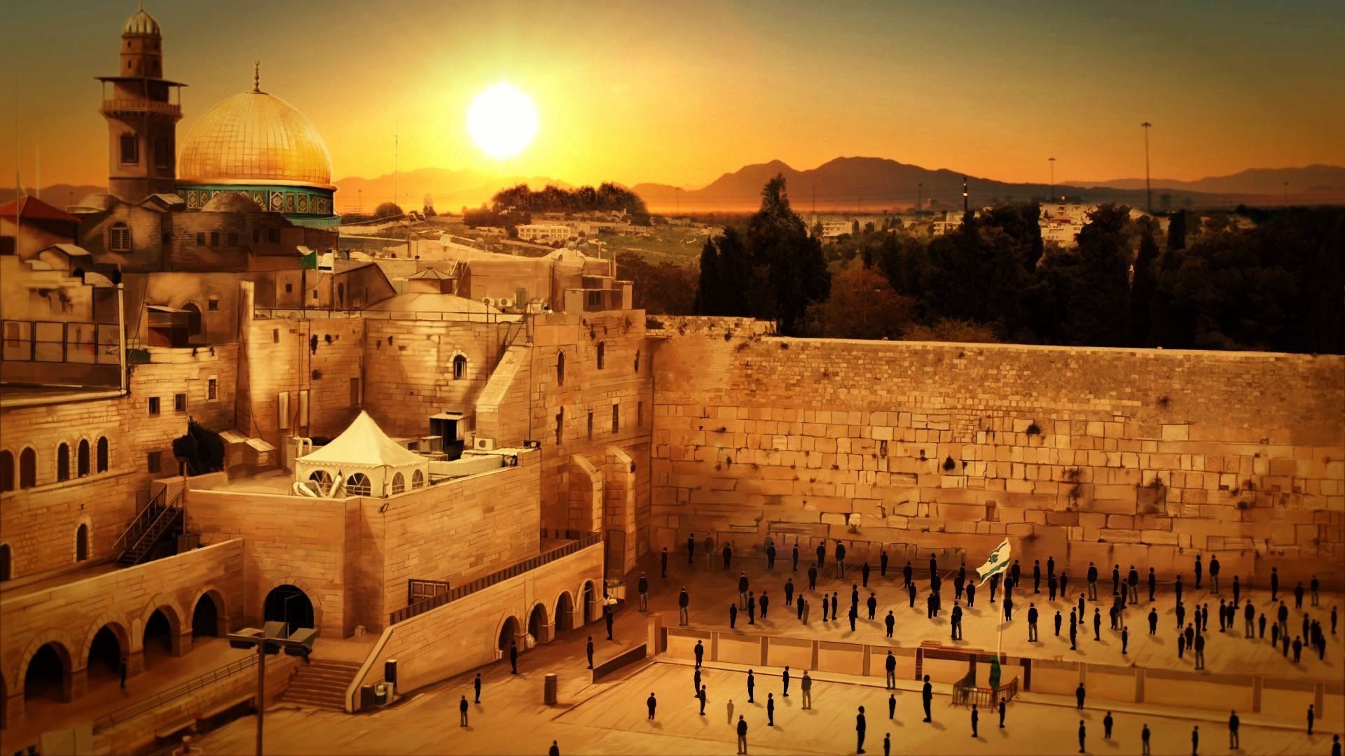 1920x1080 Jerusalem HD Wallpapers