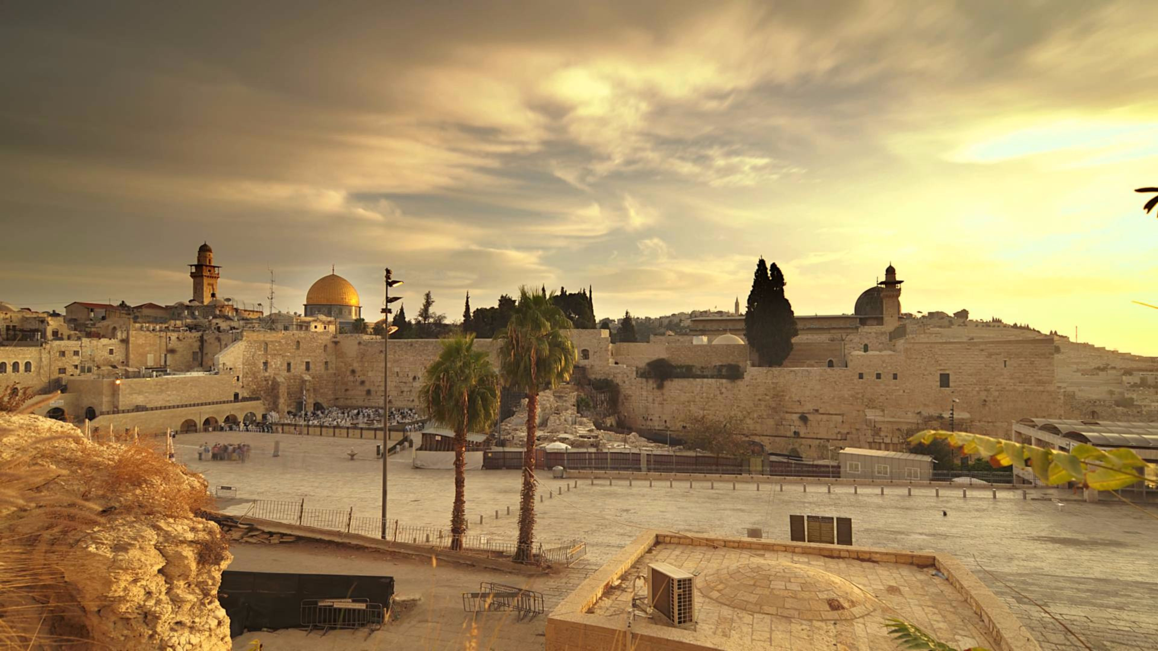 3840x2160 Jerusalem HD Wallpapers for desktop download