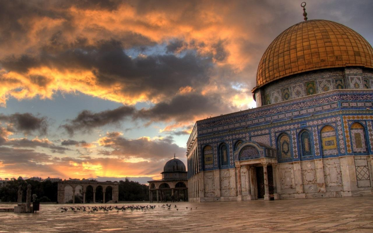 1280x800 Jerusalem Wallpaper - Dome Of The Rock (#1415995) - HD ...