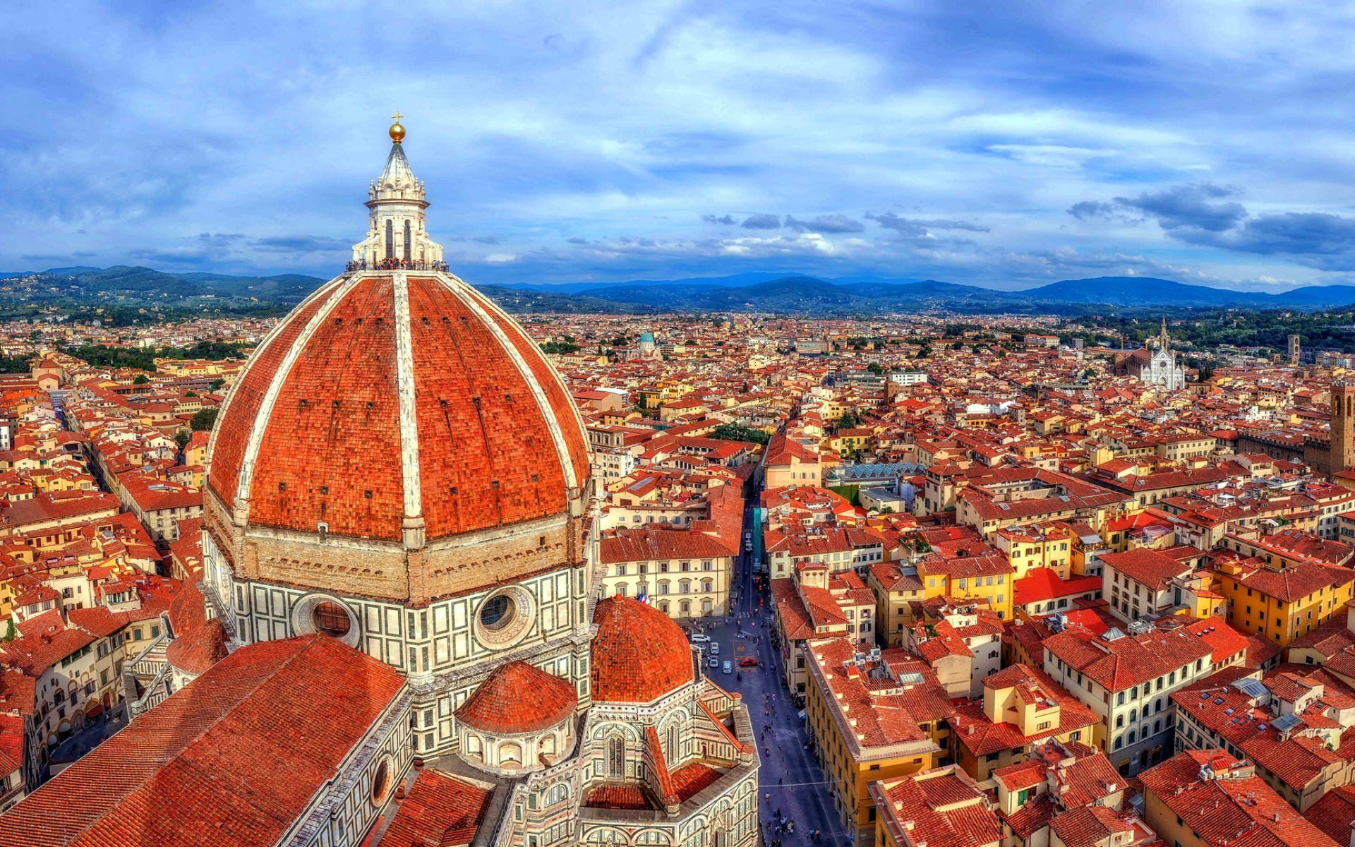 1920x1200 Wallpaper of City, Florence, Florence Cathedral, Italy ...