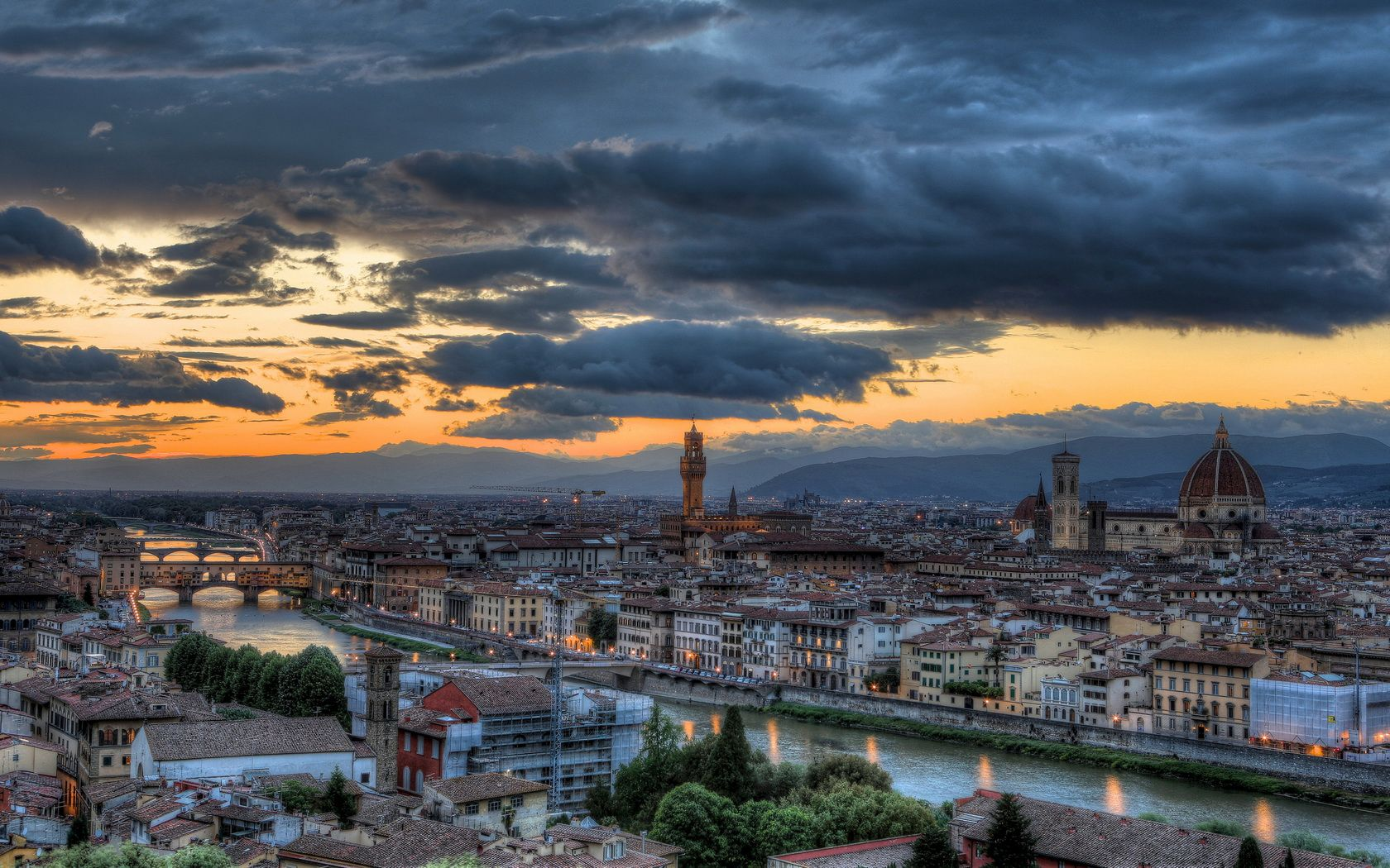 1680x1050 Florence Wallpaper 02037 - Baltana