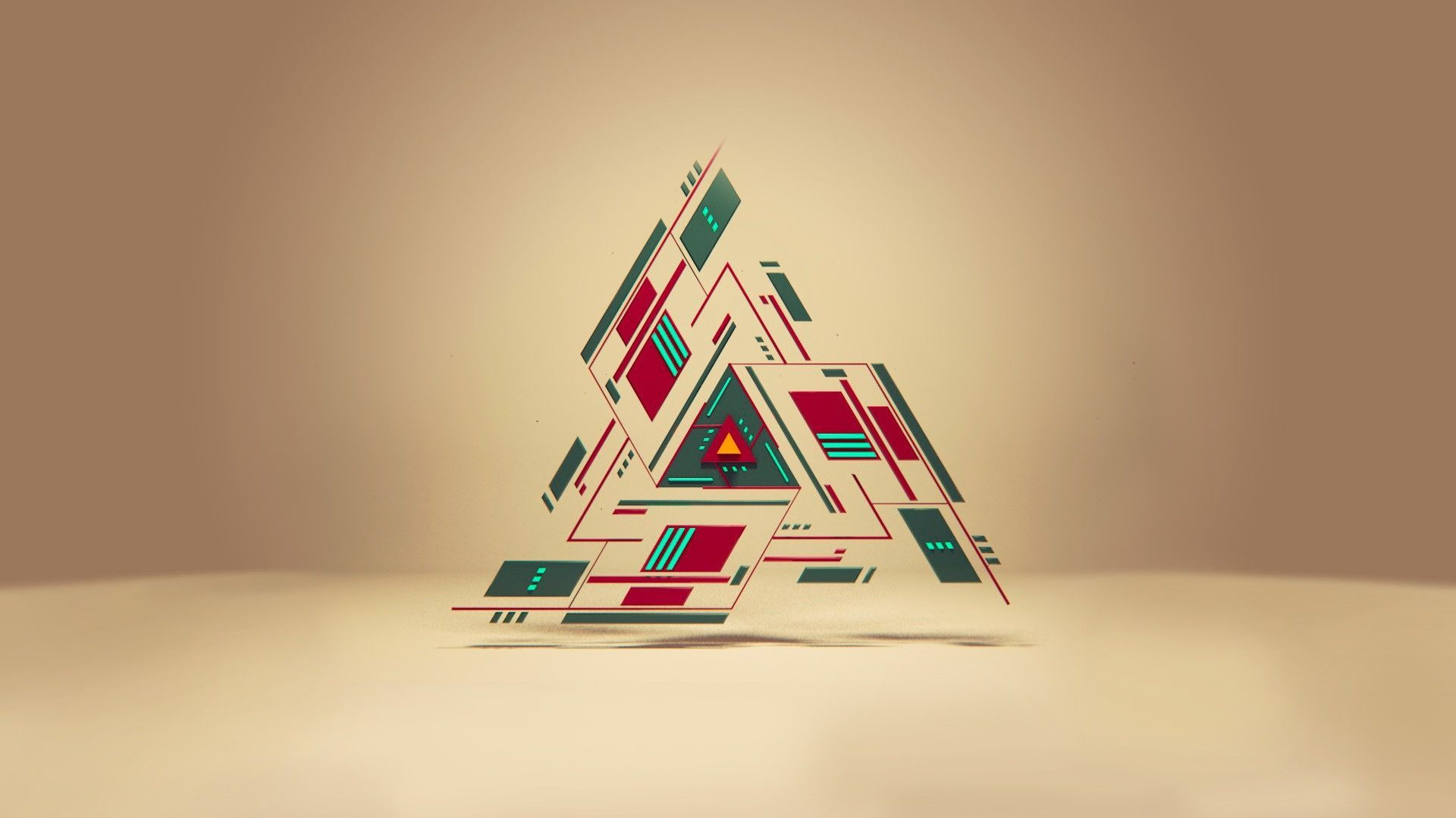 1920x1080 25+ Modern Abstract Geometric Wallpapers - Download at ...