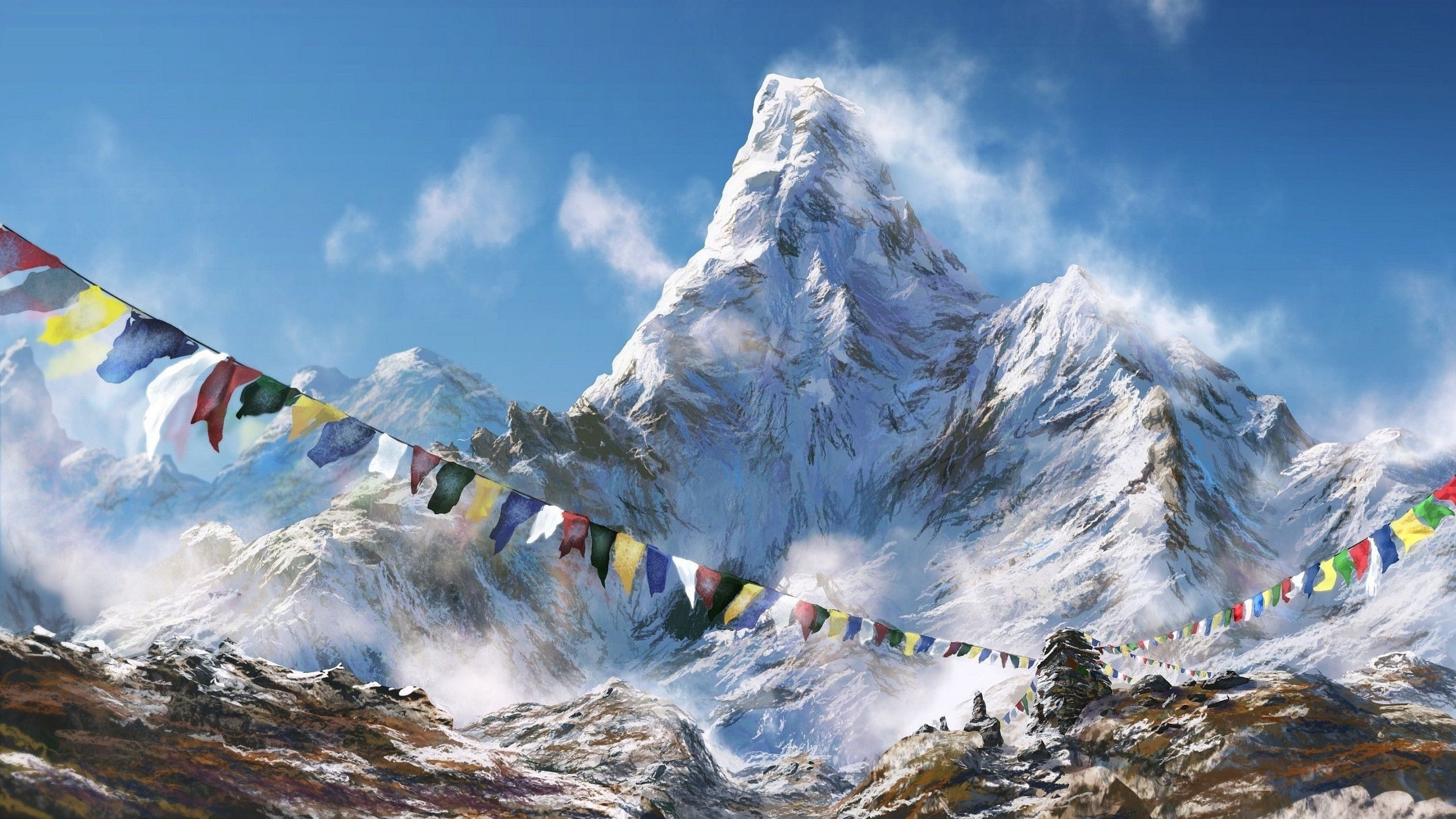 2560x1440 Mount Everest Nepal iPhone wallpapers backgrounds x   pics ...