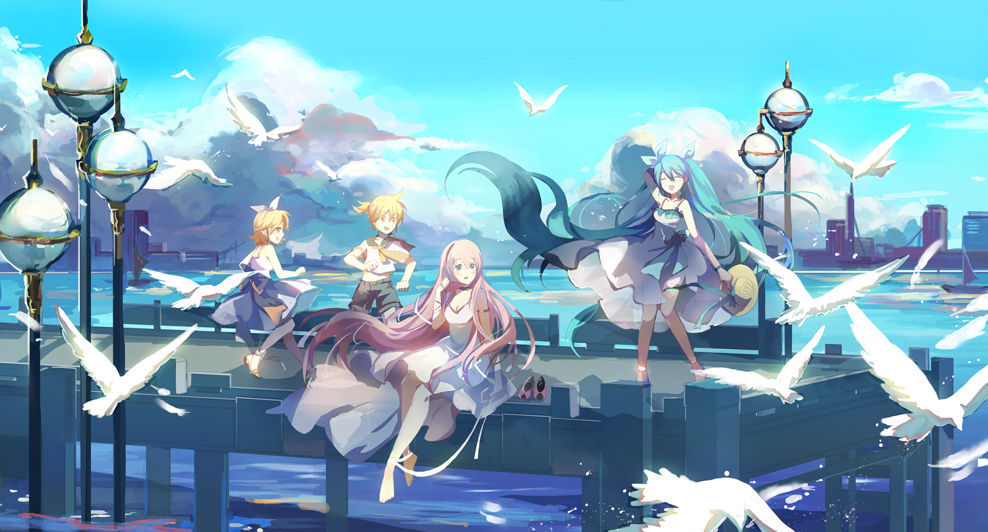 1920x1035 Vocaloid Wallpaper and Background Image | 1920x1035 | ID ...