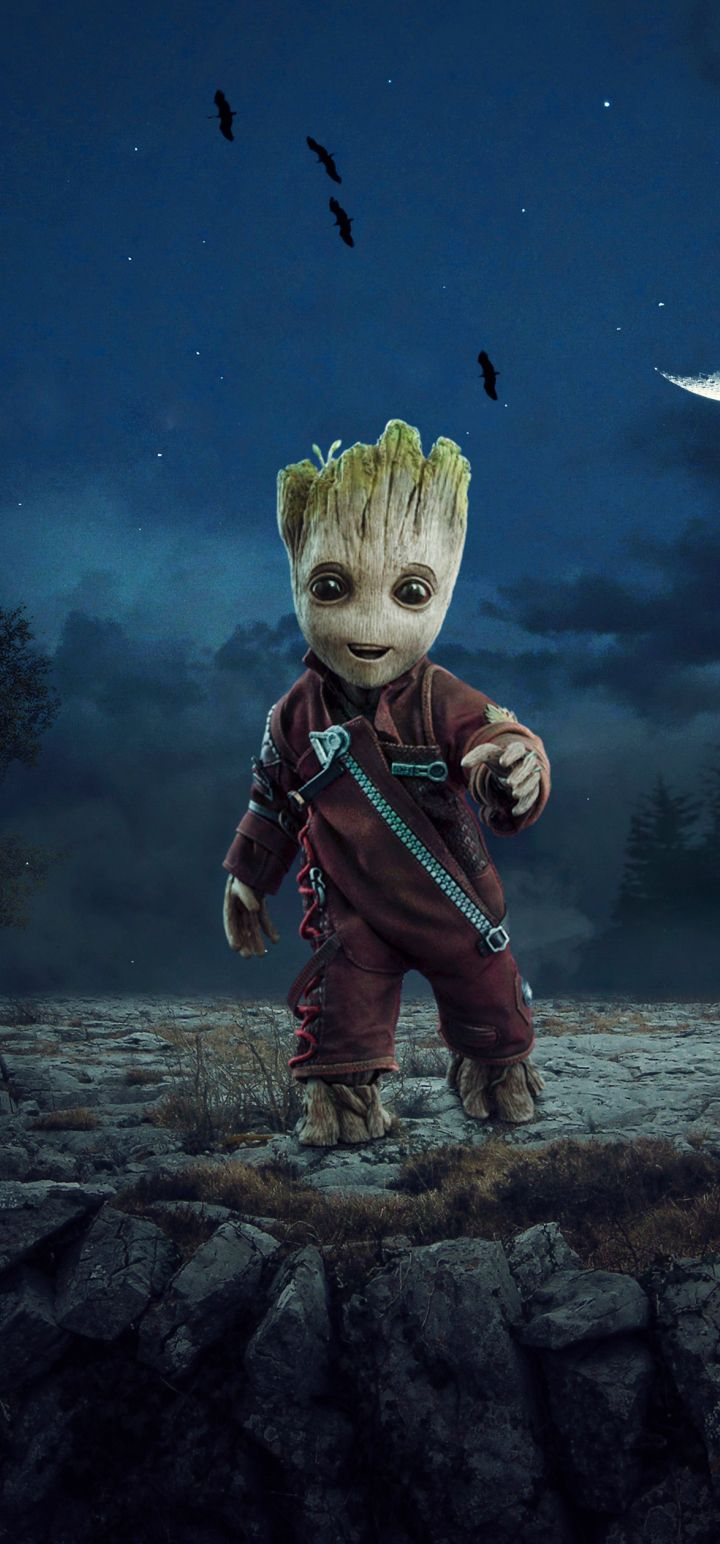 720x1544 720x1544 Baby Groot 720x1544 Resolution Wallpaper, HD Artist ...