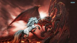 Unicorn and Dragon Wallpapers – Top Free Unicorn and Dragon Backgrounds