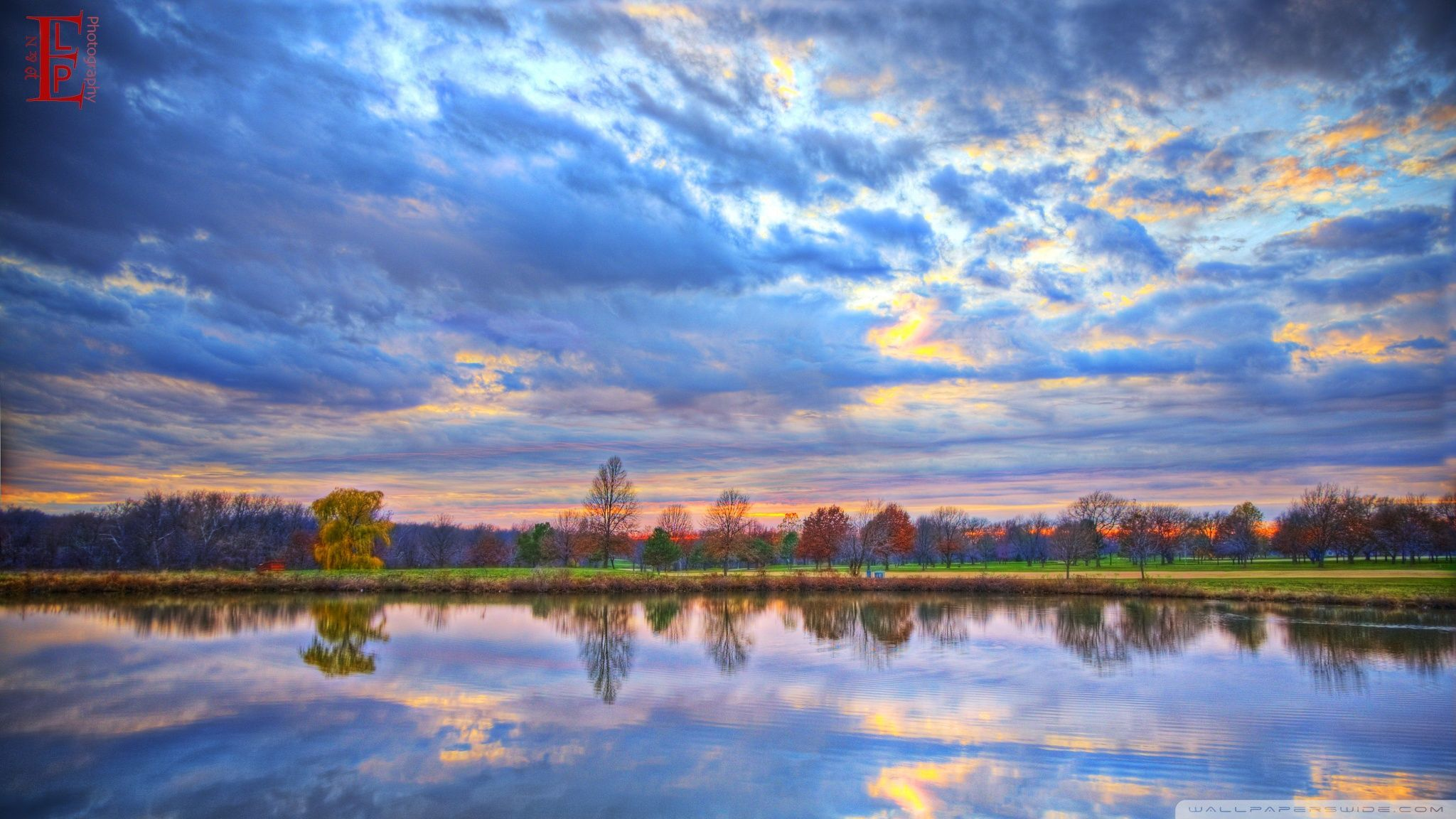 2048x1152 60+ Pastel Landscape Wallpapers - Download at WallpaperBro