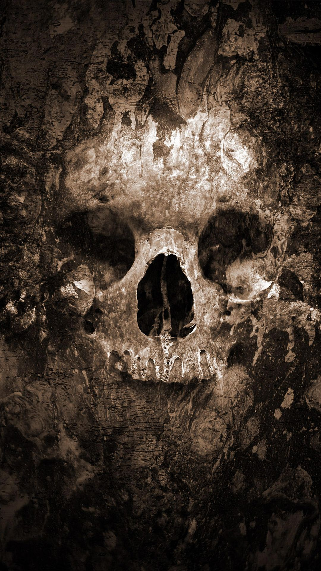 1080x1920 Skull Halloween - Best htc one wallpapers, free and easy to ...