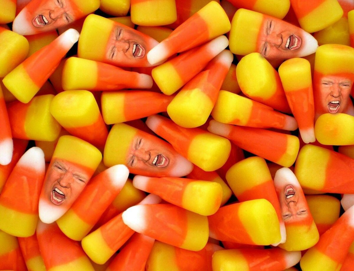 1200x920 Trump Candy Corn | FUNNY | Worst halloween candy, Candy corn ...