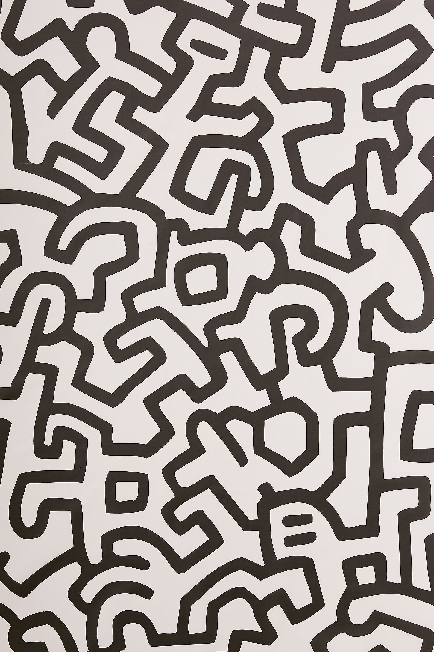 1450x2175 Keith Haring Removable Wallpaper Tile   Wallpaper in 2019 ...